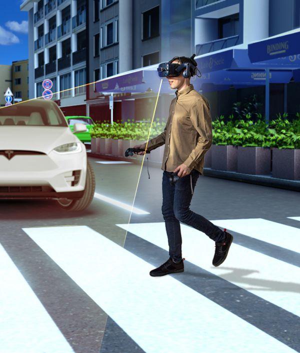 NMY I Continental I Pedestrian Simulator I VR Experience