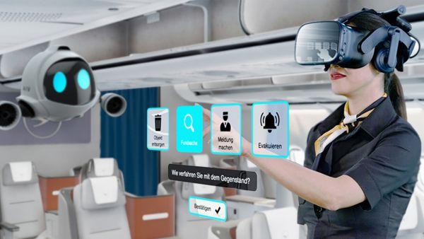 NMY I Lufthansa I VR Training I Interface