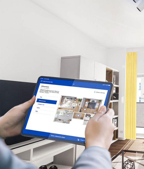 NMY I 3D Wohnraum-Konfigurator I iPad