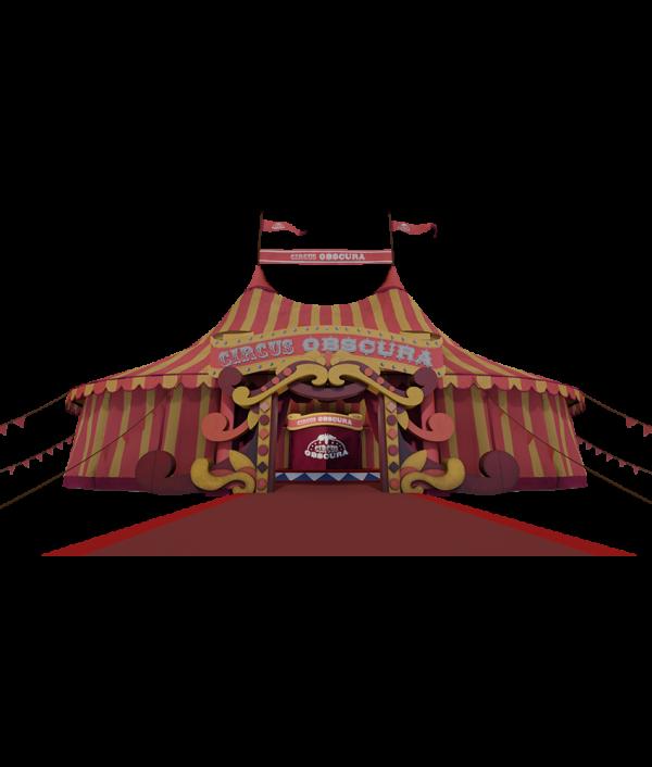 NMY unseen I Circus Obscura 3D Tour I Zirkuszelt