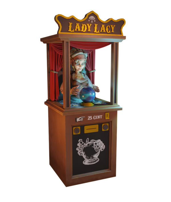 NMY unseen I Circus Obscura 3D Tour I Lady Lacy