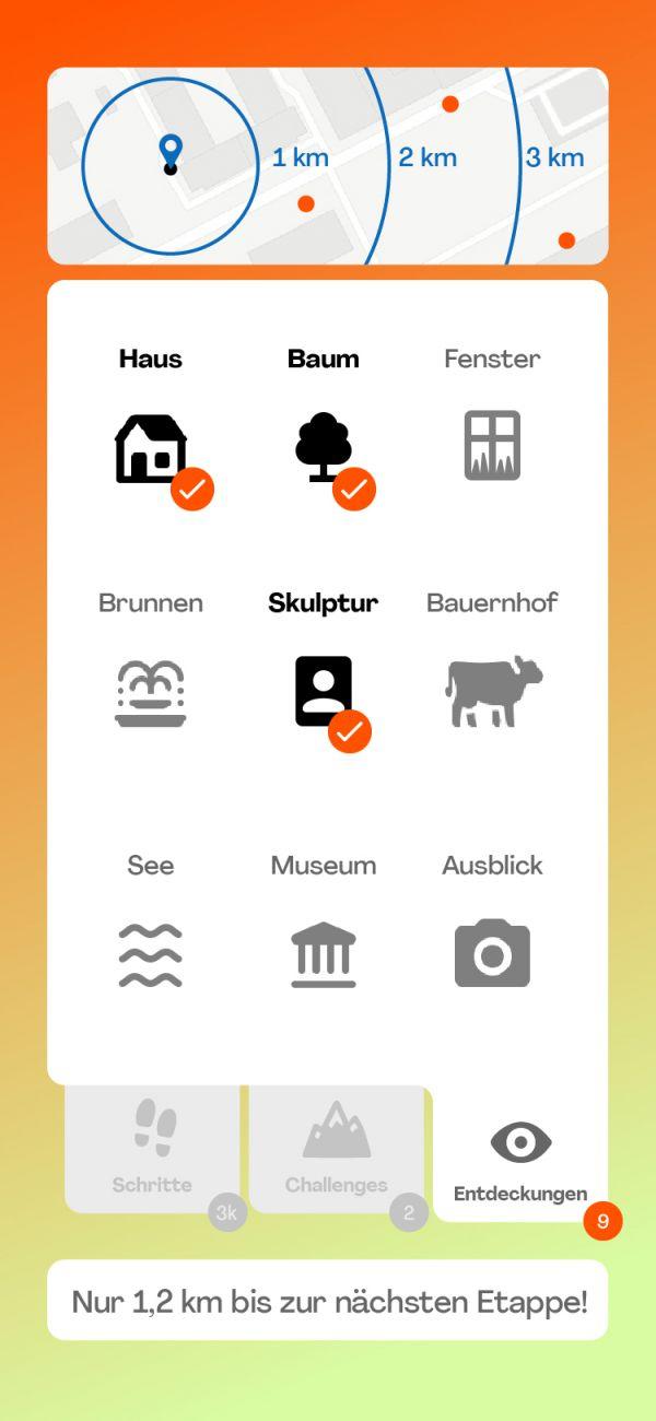 NMY unseen I Use Case Gesundheit I App Screen