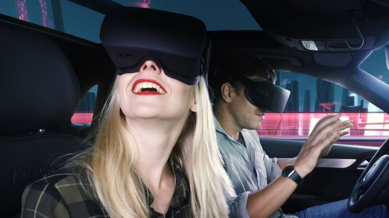 Bang Olufsen Audi Virtual Reality Sound Experience for drivers