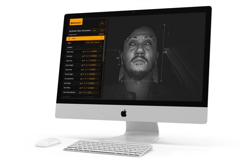 NMY I Continental I Virtual Driver Simulation I Custom UX