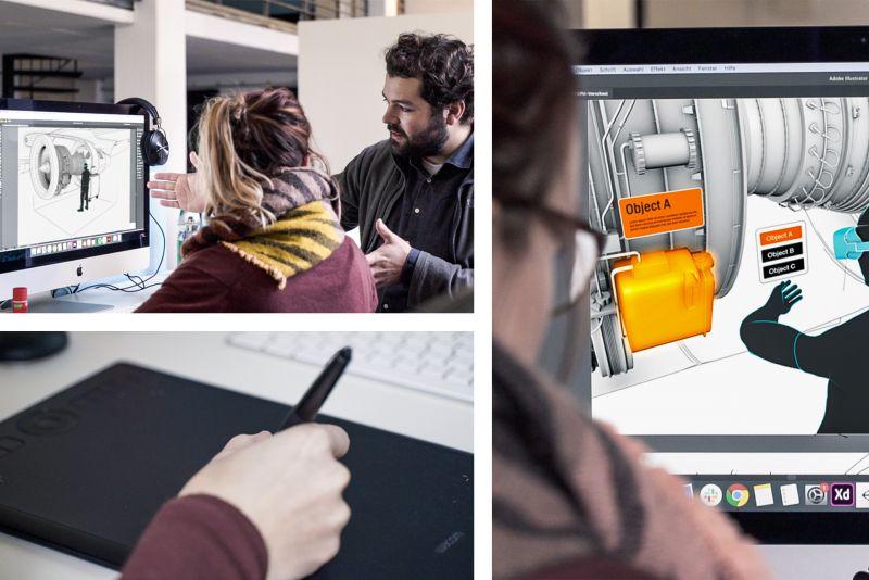 NMY I Lufthansa I Virtual Engine Training I Concept