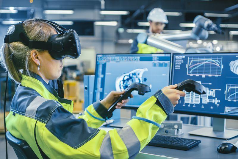 NMY I Lufthansa I Virtual Engine Training I VR Learning