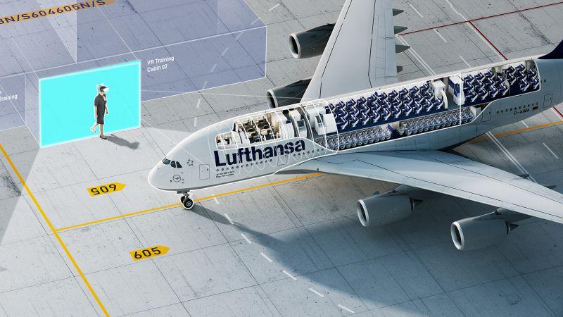 NMY I Lufthansa I VR Training I Remote Cockpit