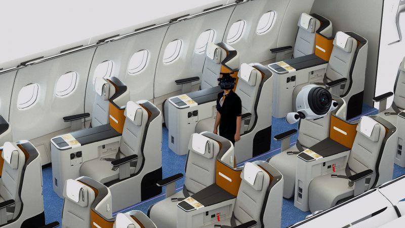 NMY I Lufthansa I VR Training I 3D Modelling