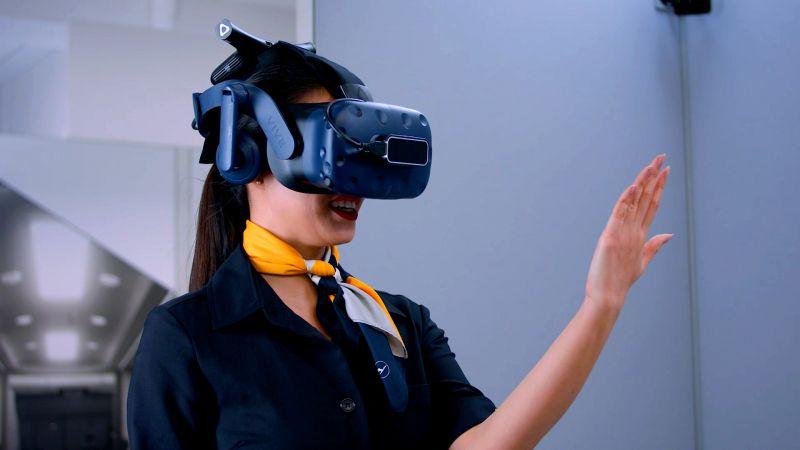 NMY I Lufthansa I VR Training I Gestenerkennung