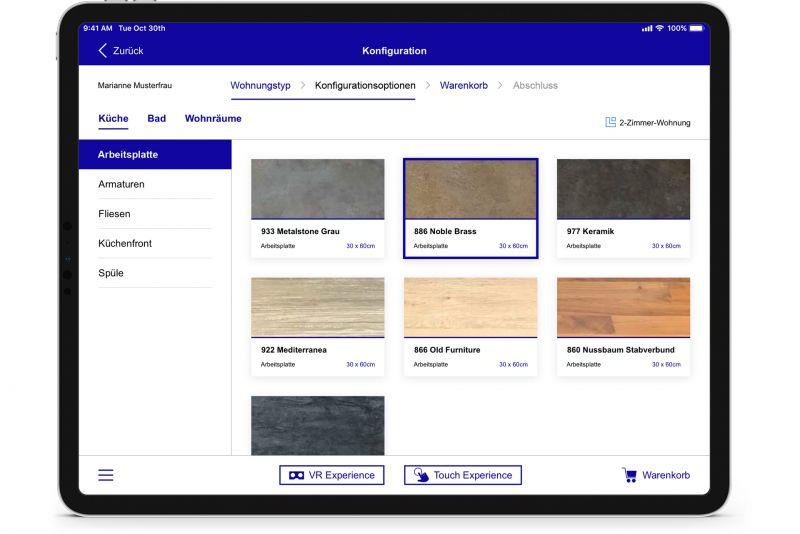 NMY I 3D Wohnraum-Konfigurator I X-Plattform